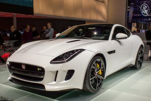 Geneva 2014: Jaguar F-Type R Coupe by randomlurker