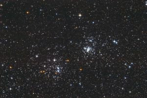 NGC 869 and NGC 884 by S-e-n-t-e-n-z-a