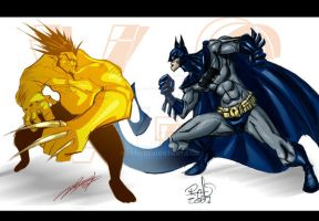 WOLVERINE VS BATMAN by Refs