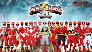 Power Rangers 20th Anniversary 3rd Wallpaper by scottasl
