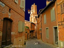 Old Street of Albi by DigitPhil