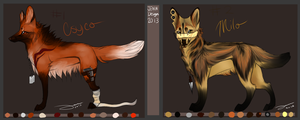 Design commissions for DirtyMutt-Adopts by AgentWhiteHawk