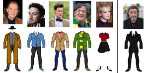 Doctor Who: Dark Imaginations Outfits by NoSirAll13