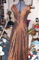 Copper Holiday Gown Const. 04 by Syagria