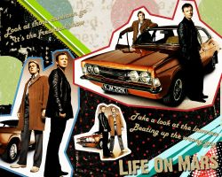Life On Mars Wallpaper by nova-mist