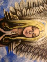 Art Angel-2 by PsychicMindWars777