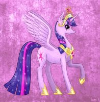 Princess Twilight Sparkle by Pedantia