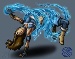 Breakbenders - Katara by Wolfish-Dreams