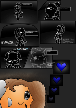 UNDERTALE the SOUL of Loyalty issue 1 page 1 by BladeFoxfairy