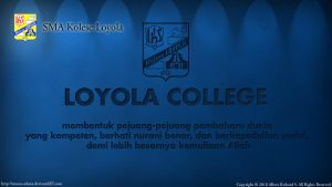 Loyola Wallpaper 1 SET1_2010 by moon-selena