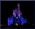 Castle in Purple and Blue by WDWParksGal