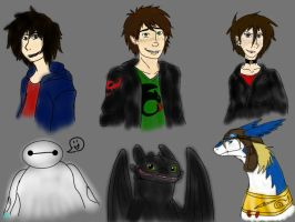 Huge Crossover Idea-HTTYD BH6 and RotW by BlackDragon-Studios