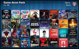 Game Aicon Pack 88 by HarryBana