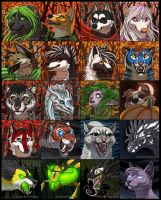 Fall and Halloween Icons by KatieHofgard