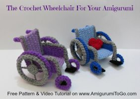 How To Crochet A Wheelchair by sojala