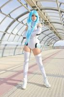 White Heart Goddess by Saru-Cosplay