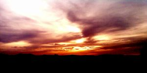 Sunset in Tuscany 2 by lukasn