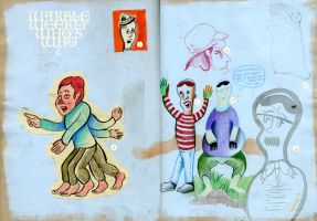 Warble Weekly Whos Who 7 by hyronomous