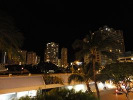 Hawaii-At Night by ForgottenDemonShadow