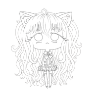 Seeu Lineart by MyStarryDreams