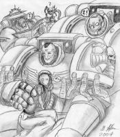 My Space Marines by tyrantwache