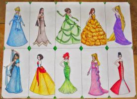 Designer Princesses by Lady-Faustus