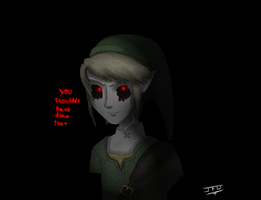 Creepypasta Fan art - Ben Drowned (TP style) by JackFrostOverland