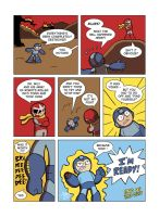 Despondent Mega Man - Bad Days Part 12 by JesseDuRona