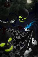 BRS vs DM_OVA fanart o3o by jaja-sick-bear