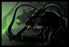DnD Displacer Beast by Elvandia
