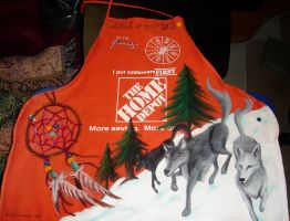 Penney's Cashier of the Month Apron by EmilyCammisa