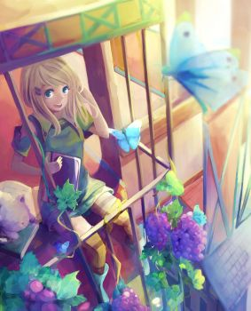 Balcony by Alie-Reol