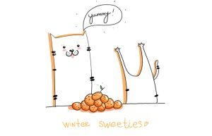 Winter Sweeties by CardeApp