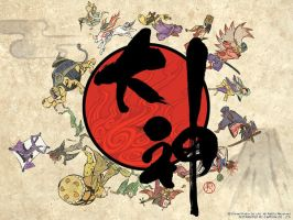 Okami Wallpaper by Okami-Fan-Club