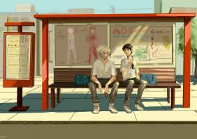 Bus Stop by YUKI-NNN