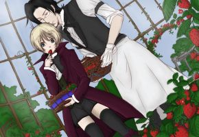 Alois and Claude - Black Butler ll by mmeades01