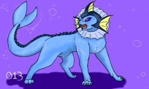 Vaporeon by rainingskittles013