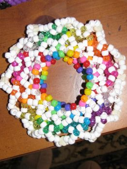 Rainbow 3D Cuff by feeweee