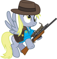 Derpy- Sniper by Smashinator
