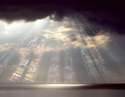 Sky Cathedral by calikal
