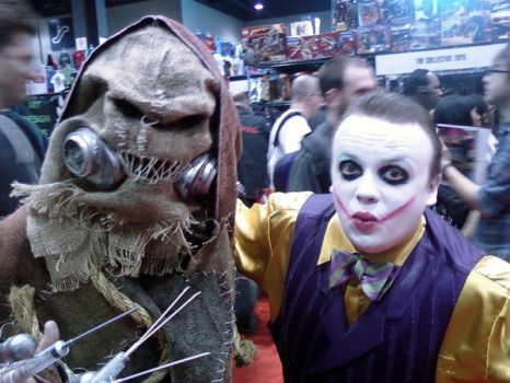 The Joker and Scarecrow by ATiC3