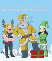 Merry Christmas 2013 by theperfectbromance