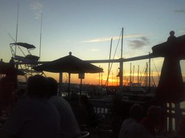 Sunset from the Grog Bar by cbowman57
