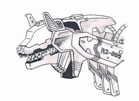 Zoids Command Wolf by animeninjayaya
