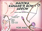 MMD - Madoka's Bow and Arrow by Zedrin