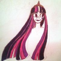 Twilight Sparkle Rainbowfied Colored by OpalMaiden