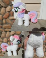Sweetie Belle Plush by StarMassacre