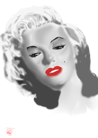 Marilyn Monroe Finished by Inner-instability