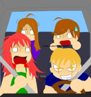 Vic's Driving...Skills... by KittyKax33221