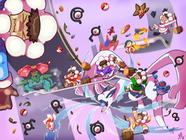 IC 30th Anniversary - Day 18 - Chaos Battle by TamarinFrog